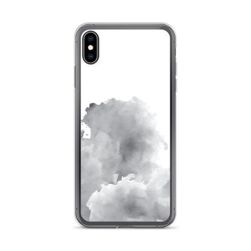 Grey Smoke iPhone XS Max Case