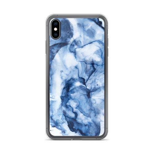 Blue Watercolor iPhone XS Max Case