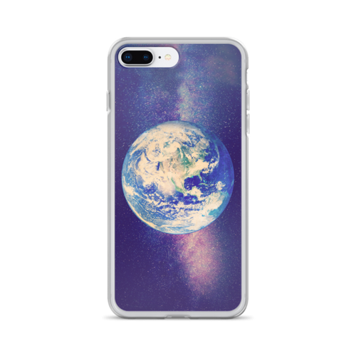 Earth and Galaxy iPhone Case for all iPhone models including XR, XS Max, X, XS, 7Plus, 8Plus, 7, 8, 6Plus, 6s Plus, 6, 6s