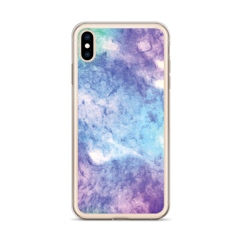Blue Purple Green Tie Dye iPhone Case for all iPhone models including XR, XS Max, X, XS, 7Plus, 8Plus, 7, 8, 6Plus, 6s Plus, 6, 6s
