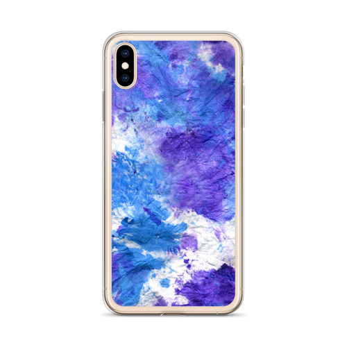 Purple and Blue Splotch iPhone Case for all iPhone models including XR, XS Max, X, XS, 7Plus, 8Plus, 7, 8, 6Plus, 6s Plus, 6, 6s