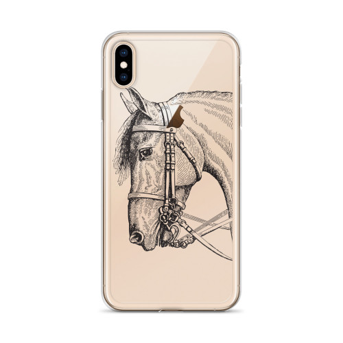 Vintage Horse iPhone Case for all iPhone models including XR, XS Max, X, XS, 7Plus, 8Plus, 7, 8, 6Plus, 6s Plus, 6, 6s