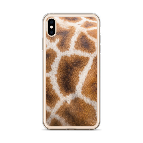 Giraffe Print iPhone Case for all iPhone models including XR, XS Max, X, XS, 7Plus, 8Plus, 7, 8, 6Plus, 6s Plus, 6, 6s