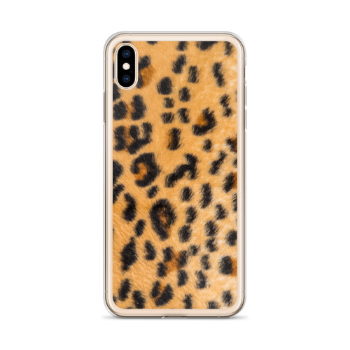 Leopard Pattern iPhone Case for all iPhone models including XR, XS Max, X, XS, 7Plus, 8Plus, 7, 8, 6Plus, 6s Plus, 6, 6s