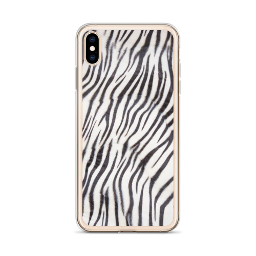 White Tiger Pattern iPhone Case for all iPhone models including XR, XS Max, X, XS, 7Plus, 8Plus, 7, 8, 6Plus, 6s Plus, 6, 6s