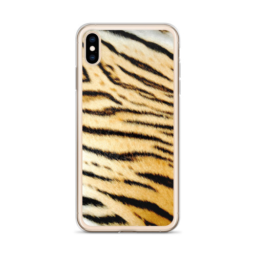 Tiger Stripe Pattern iPhone Case for all iPhone models including XR, XS Max, X, XS, 7Plus, 8Plus, 7, 8, 6Plus, 6s Plus, 6, 6s