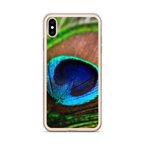 Pretty Peacock Feather iPhone Case