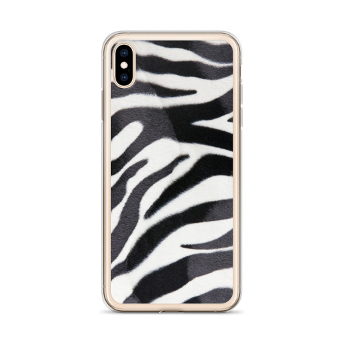Zebra Stripe iPhone Case for all iPhone models including XR, XS Max, X, XS, 7Plus, 8Plus, 7, 8, 6Plus, 6s Plus, 6, 6s
