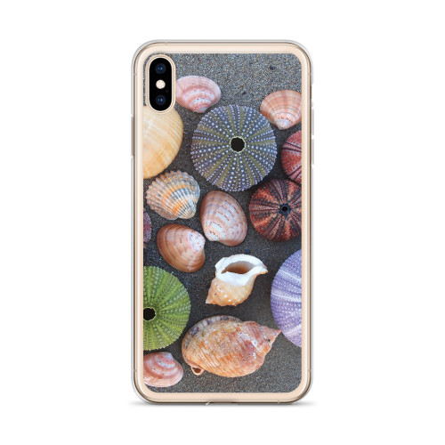Pretty Shells iPhone Case for all iPhone models including XR, XS Max, X, XS, 7Plus, 8Plus, 7, 8, 6Plus, 6s Plus, 6, 6s