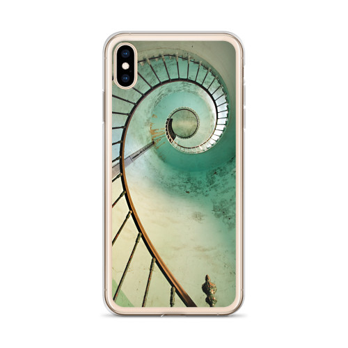 Spiral Stairs Art iPhone Case for all iPhone models including XR, XS Max, X, XS, 7Plus, 8Plus, 7, 8, 6Plus, 6s Plus, 6, 6s