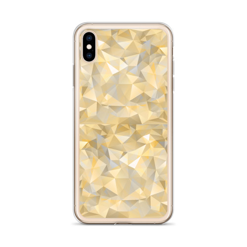Gold Geometric Pattern iPhone Case for all iPhone models including 11, 11 Pro, 11 Pro Max, XR, XS Max, X, XS, 7Plus, 8Plus, 7, 8, 6Plus, 6s Plus, 6, 6s