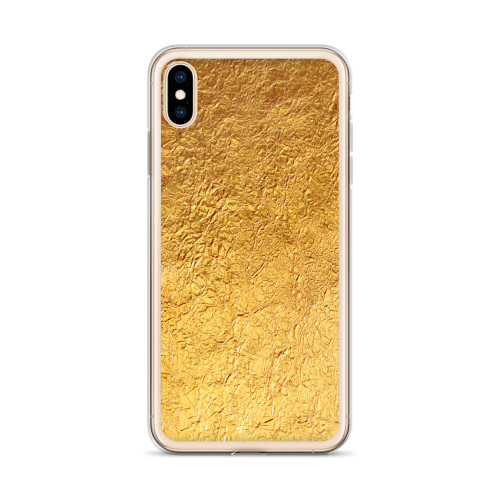 Gold Foil iPhone Case for all iPhone models including 11, 11 Pro, 11 Pro Max, XR, XS Max, X, XS, 7Plus, 8Plus, 7, 8, 6Plus, 6s Plus, 6, 6s