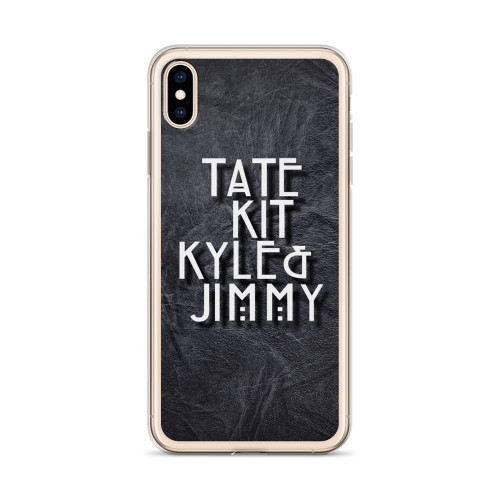 AHS Tate, Kit, Kyle and Jimmy iPhone Case iPhone Case for all iPhone models including 11, 11 Pro, 11 Pro Max, XR, XS Max, X, XS, 7Plus, 8Plus, 7, 8, 6Plus, 6s Plus, 6, 6s