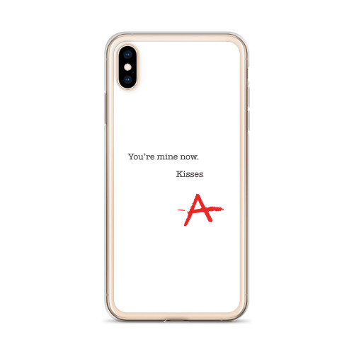 PLL Kisses- A- iPhone Case for all iPhone models including 11, 11 Pro, 11 Pro Max, XR, XS Max, X, XS, 7Plus, 8Plus, 7, 8, 6Plus, 6s Plus, 6, 6s