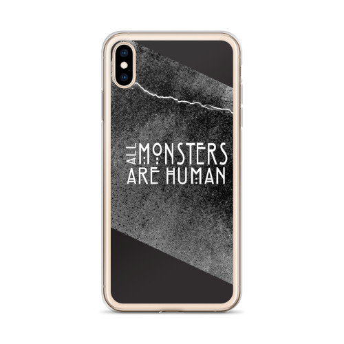 AHS All Monsters are Human iPhone Case for all iPhone models including 11, 11 Pro, 11 Pro Max, XR, XS Max, X, XS, 7Plus, 8Plus, 7, 8, 6Plus, 6s Plus, 6, 6s