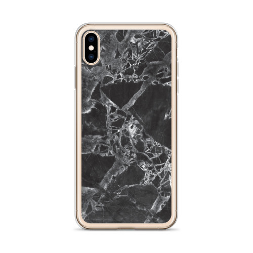 Black and White Marble iPhone Case for all iPhone models including 11, 11 Pro, 11 Pro Max, XR, XS Max, X, XS, 7Plus, 8Plus, 7, 8, 6Plus, 6s Plus, 6, 6s