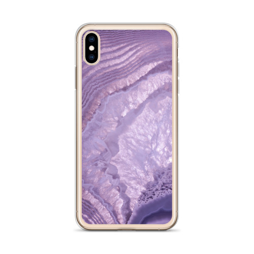 Purple Gemstone iPhone Case for all iPhone models including 11, 11 Pro, 11 Pro Max, XR, XS Max, X, XS, 7Plus, 8Plus, 7, 8, 6Plus, 6s Plus, 6, 6s