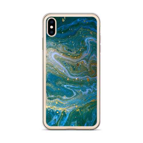 Galaxy Blue Midnight Swirl iPhone Case for all iPhone models including 11, 11 Pro, 11 Pro Max, XR, XS Max, X, XS, 7Plus, 8Plus, 7, 8, 6Plus, 6s Plus, 6, 6s
