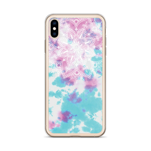 Tie Dye Henna Design iPhone Case for all iPhone models including 11, 11 Pro, 11 Pro Max, XR, XS Max, X, XS, 7Plus, 8Plus, 7, 8, 6Plus, 6s Plus, 6, 6s