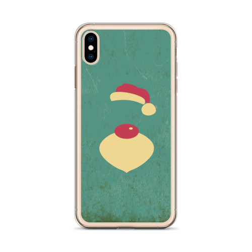 Cute Santa Claus iPhone Case for all iPhone models including 11, 11 Pro, 11 Pro Max, XR, XS Max, X, XS, 7Plus, 8Plus, 7, 8, 6Plus, 6s Plus, 6, 6s