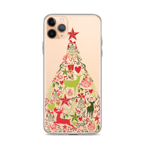 Festive Christmas Tree iPhone Case