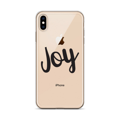 Joy iPhone Case for all iPhone models including 11, 11 Pro, 11 Pro Max, XR, XS Max, X, XS, 7Plus, 8Plus, 7, 8, 6Plus, 6s Plus, 6, 6s
