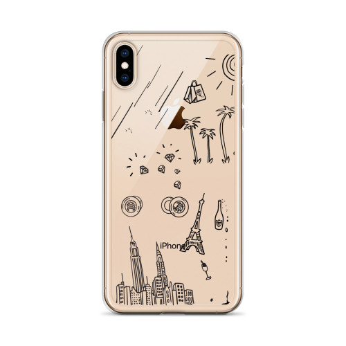 That's What I Like Doodles iPhone Case for all iPhone models including 11, 11 Pro, 11 Pro Max, XR, XS Max, X, XS, 7Plus, 8Plus, 7, 8, 6Plus, 6s Plus, 6, 6s