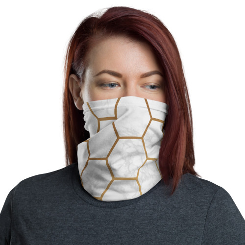 Honeycomb Marble Neck Gaiter