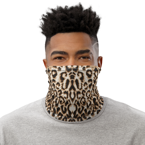 Cheetah Pattern Neck Gaiter