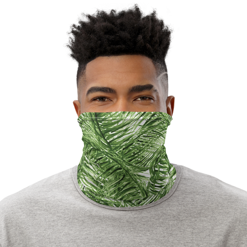 Palm Pattern Neck Gaiter