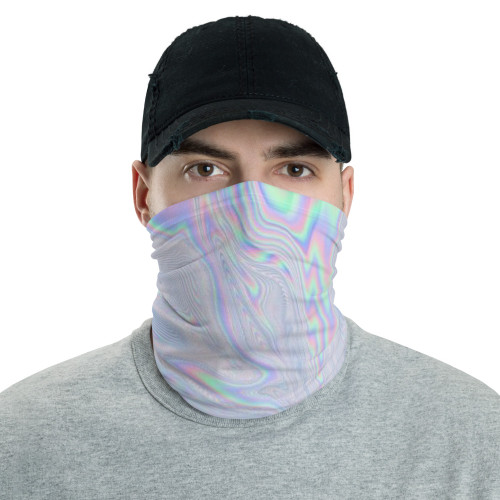 Holographic Pattern Neck Gaiter by Cases by Kate and CBK Company