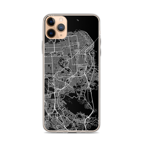 San Francisco City Map iPhone Case for all iPhone models including 11, 11 Pro, 11 Pro Max, XR, XS Max, X, XS, 7Plus, 8Plus, 7, 8, 6Plus, 6s Plus, 6, 6s, SE