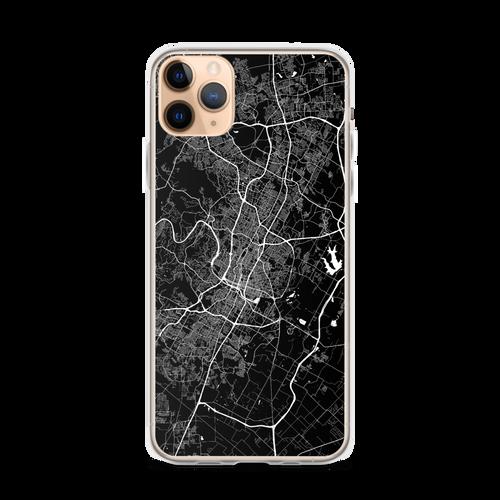 Austin City Map iPhone Case for all iPhone models including 11, 11 Pro, 11 Pro Max, XR, XS Max, X, XS, 7Plus, 8Plus, 7, 8, 6Plus, 6s Plus, 6, 6s, SE