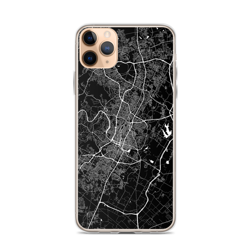 Austin City Map iPhone Case for all iPhone models including 11, 11 Pro, 11 Pro Max, XR, XS Max, X, XS, 7Plus, 8Plus, 7, 8, 6Plus, 6s Plus, 6, 6s, SE