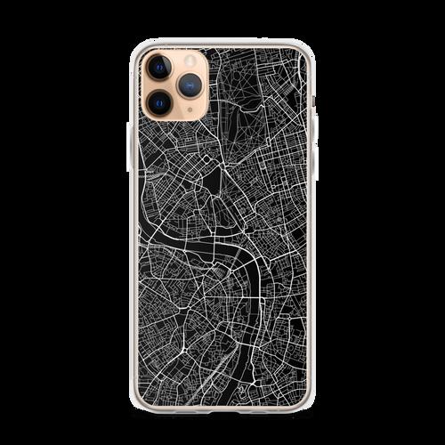 London City Map iPhone Case for all iPhone models including 11, 11 Pro, 11 Pro Max, XR, XS Max, X, XS, 7Plus, 8Plus, 7, 8, 6Plus, 6s Plus, 6, 6s, SE
