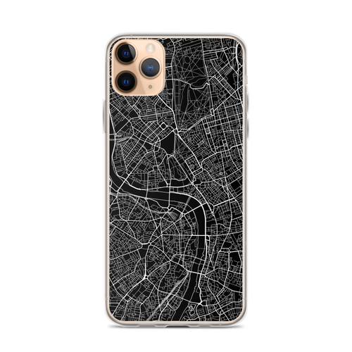 London City Map iPhone Case for all iPhone models including 11, 11 Pro, 11 Pro Max, XR, XS Max, X, XS, 7Plus, 8Plus, 7, 8, 6Plus, 6s Plus, 6, 6s, SE