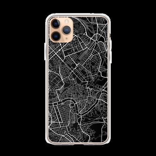Rome City Map iPhone Case for all iPhone models including 11, 11 Pro, 11 Pro Max, XR, XS Max, X, XS, 7Plus, 8Plus, 7, 8, 6Plus, 6s Plus, 6, 6s, SE