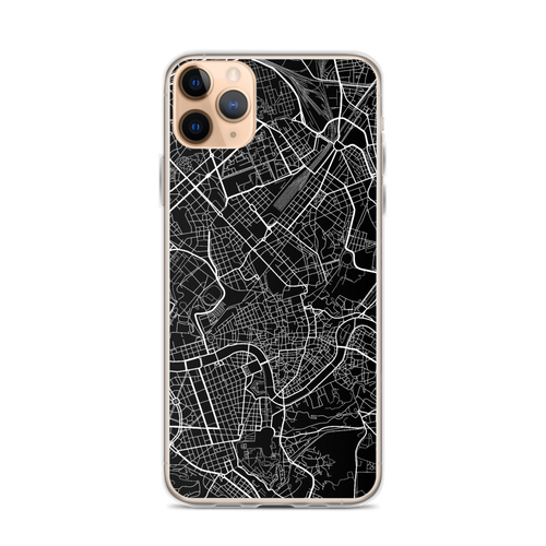 Rome City Map iPhone Case for all iPhone models including 11, 11 Pro, 11 Pro Max, XR, XS Max, X, XS, 7Plus, 8Plus, 7, 8, 6Plus, 6s Plus, 6, 6s, SE