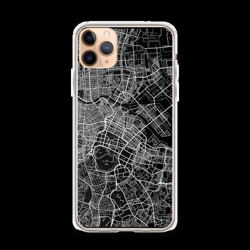Tokyo City Map iPhone Case for all iPhone models including 11, 11 Pro, 11 Pro Max, XR, XS Max, X, XS, 7Plus, 8Plus, 7, 8, 6Plus, 6s Plus, 6, 6s, SE