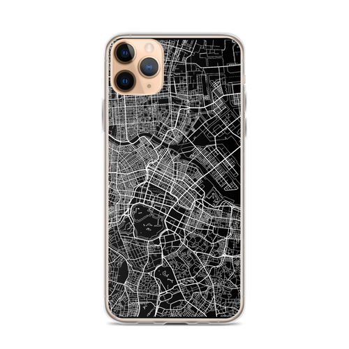 Tokyo City Map iPhone Case for all iPhone models including 11, 11 Pro, 11 Pro Max, XR, XS Max, X, XS, 7Plus, 8Plus, 7, 8, 6Plus, 6s Plus, 6, 6s, SE