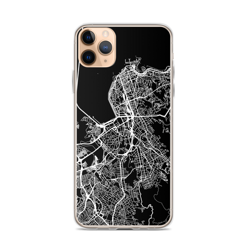 Rio de Janeiro City Map iPhone Case for all iPhone models including 11, 11 Pro, 11 Pro Max, XR, XS Max, X, XS, 7Plus, 8Plus, 7, 8, 6Plus, 6s Plus, 6, 6s, SE