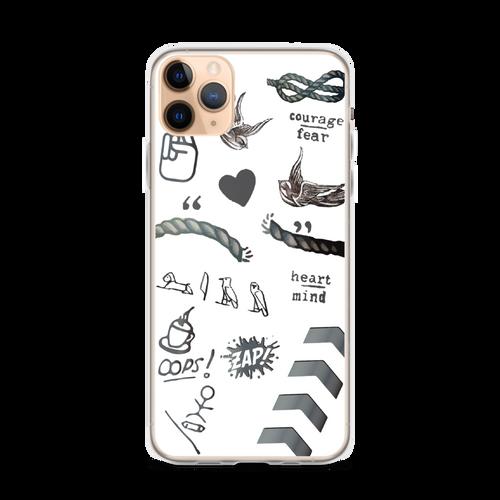 1D Tattoos iPhone Case