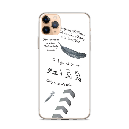 Liam's Tattoos iPhone Case