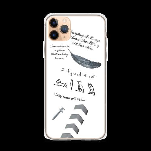 Liam's Tattoos iPhone Case
