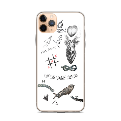Louis's Tattoos iPhone Case