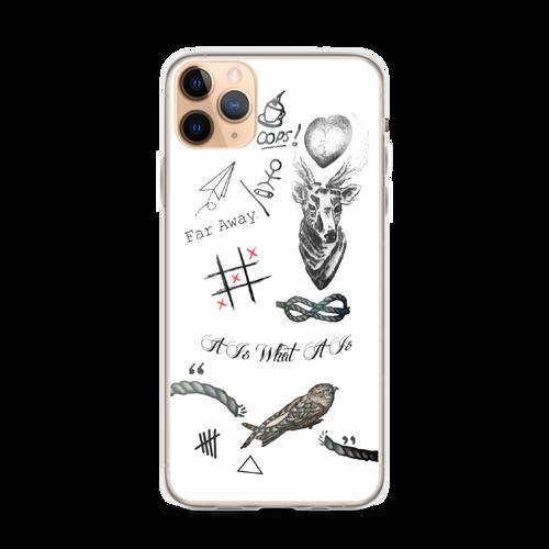 Louis's Tattoos iPhone Case