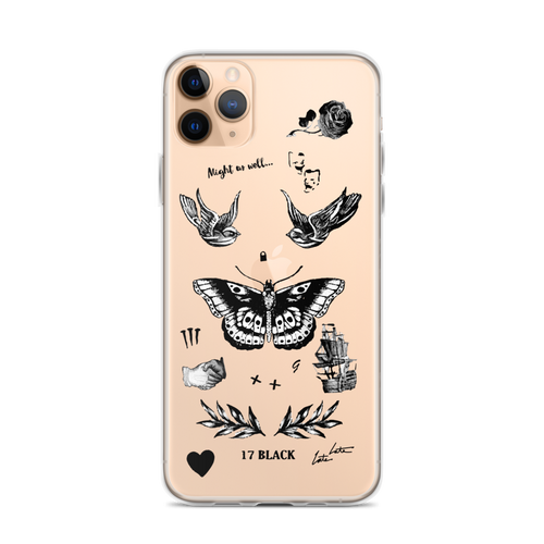 Harry's Tattoos iPhone Case