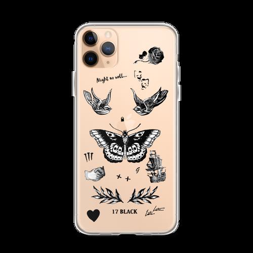 Harry's Tattoos iPhone Case