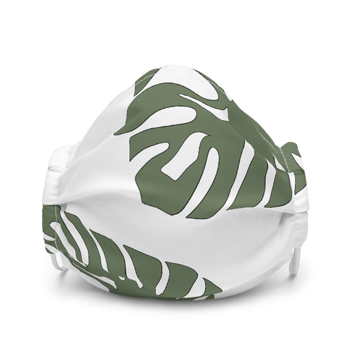 Philodendron Leaf Face Mask