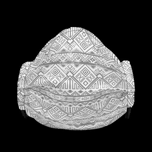 Black Aztec Face mask
